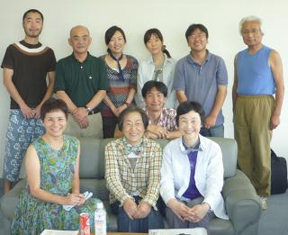 The observation team and Kurosawa-san.