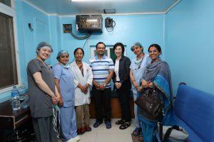 Nepal 2, neurological institute?