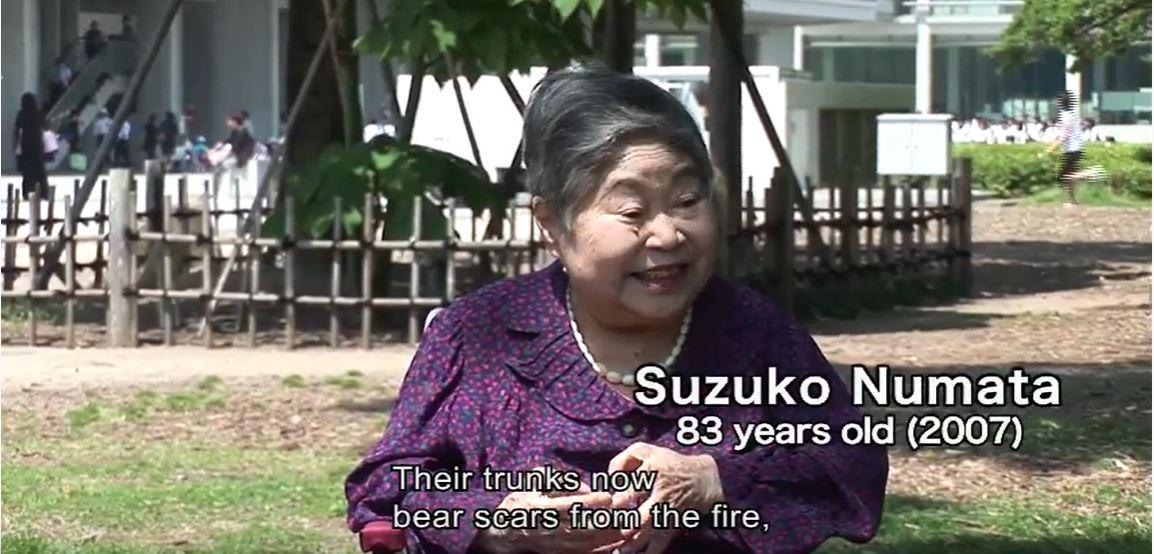 Hibakusha Suzuko Numata